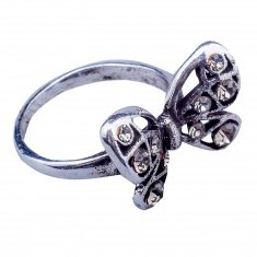 Кольцо (цвет серебро) (размеры:16,17,18,19,20)