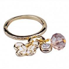 Кольцо (цвет золото) (размеры:17,18,19)