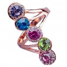 Кольцо (в ассорт. цвет-золото, серебро) (размеры:17,18,19)