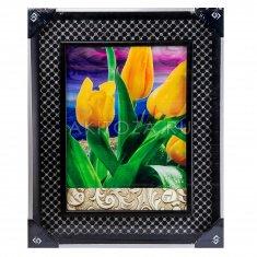 Картина-фото 44x54 см. Тюльпаны