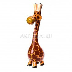 Жираф h=17 см.(дерево албезия)