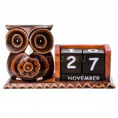 Календарь настольный Сова