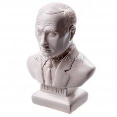 """Статуэтка """"Путин малый"""" 11 см. Белый (гипс)"""