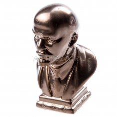 """Статуэтка бюст """"Ленин В. И."""" Средний 9,5 см Бронза (гипс)"""