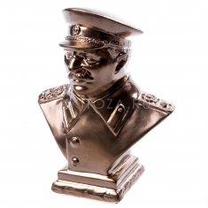"""Статуэтка """"Сталин"""" 9 см. средний Бронза (гипс)"""