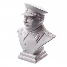 """Статуэтка """"Сталин"""" 9 см. средний Белый (гипс) 325-1"""