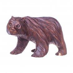 Медведь l=30 см в ассорт. (дерево суар)