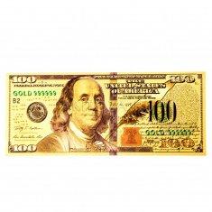 """""""Волшебные"""" 100 долларов (золотая) 6,5x15.5 см. (уп. 12 шт.) 01-9-AKC"""