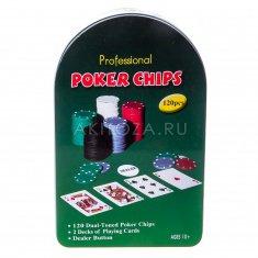 Набор для покера c сукном и номиналом (кор. 20 шт.)