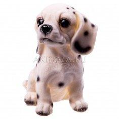 Собака 16 см. (полистоун)