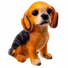 Собака 16 см  (полистоун)