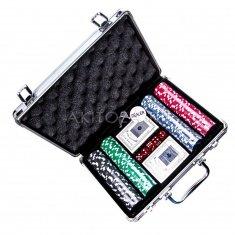 Набор для покера (чемоданчик) с номиналом 30х25 см. (кор. 6 наб.)