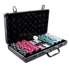 Набор для покера (чемоданчик) с номиналом 40х25 см. (кор. 4 шт.)
