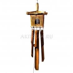 Музыка ветра Скворечник квадратный 50 см (бамбук)
