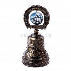 Колокольчик (подкова) 10 см. В.Новгород (бронза) (уп. 12 шт., кор. 120 шт.)