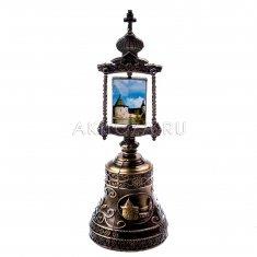 Колокольчик (икона) со стразами 13 см. Псков (уп. 12 шт., кор. 120 шт.)