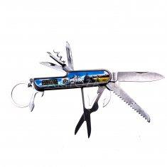 Нож складной  В. Новгород (синий)