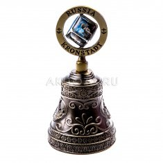 Колокольчик (куб) 10 см. Кронштадт  (уп 12 шт., кор. 120 шт.)