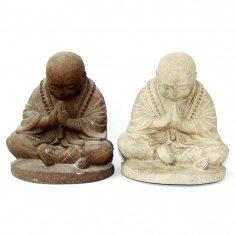 Монах h=20 см. (в ассорт.) (камень)