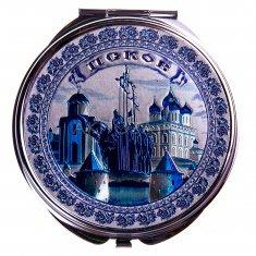 Зеркало 7 см. Гжель Псков (кор. 240 шт., упак. 12 шт.)