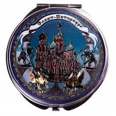 Зеркало 7 см. СПб-Спас (уп. 12 шт.)