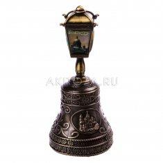 Колокольчик-фонарь 10 см. СПб-4 в 1 (бронза) (уп. 12 шт.) 22-28-A