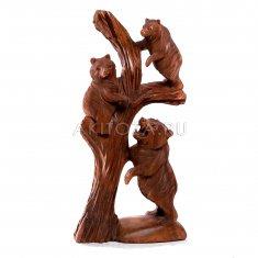Медвежата на стволе