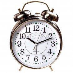 Часы - будильник (бронза) 30 см.  d=20 см.