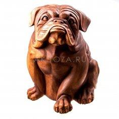 Собака h=40 см. (дерево суар)