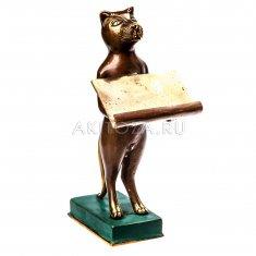 Кот h=20 см. (бронза)