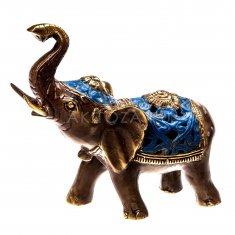 Слон l=15 см., h=15 см. (бронза)