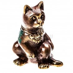 Кошка h=9 см. (бронза)