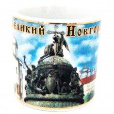 Кружка 4 см. В.Новгород-3 в 1 (кор. 288 шт.)