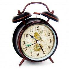 Часы - будильник h=16 см.,  d=10 см. (в ассорт.)(медь)