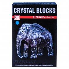 Пазл 3-D  Слон (цвета в ассорт.)