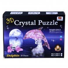 Пазл 3-D  Дельфин (цвета в ассорт.)