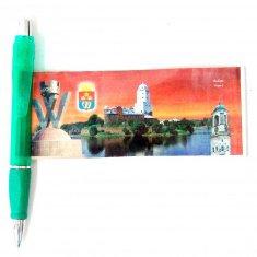 Ручка-шпаргалка 20 см. Выборг (цвета в ассорт.)(кор. 500 шт.)