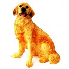 Собака 20 см. Ретривер (полистоун)