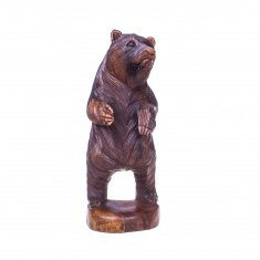 Медведь h=20 см (дерево суар)