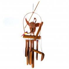 Музыка ветра Аист на бамбуке