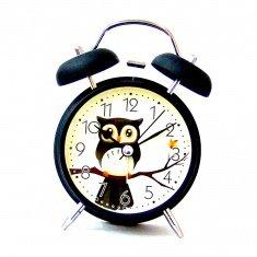 Часы-будильник d=10 см. , h=16 см. (кор. 50 шт.)