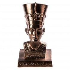 """Статуэтка """"Нефертити"""" 17 см Бронза (гипс)"""