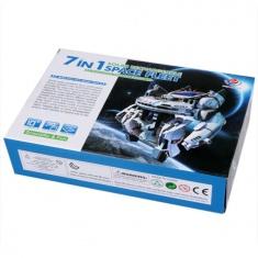 Конструктор Космический флот Space Fleet 7 in 1 (на солнечной батарее) (кор. 72 шт.)