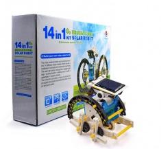 Конструктор Solar Robot kit 14 in 1 (на солнечной батарее) (кор. 48 шт.)