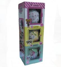 Кукла LOL surprise в шарике серии 2, 3 pets, limited (набор 3 шт.) (кор. 80 наб.)