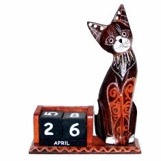 Календарь настольный Кошка