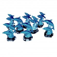 Дельфины (набор 8 шт.)