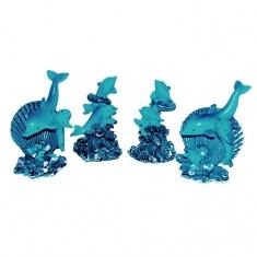 Дельфины (набор 4 шт.)
