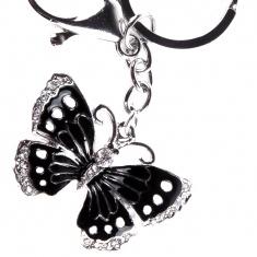 Брелок со стразами Бабочка