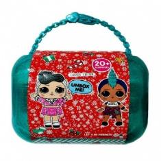 Кукла  Декодер в чемодане Рождественский набор